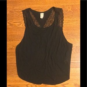 We the Free Peony Lace Tank NWOT